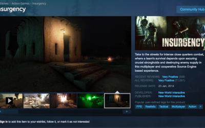 Steam's Free FPS Game –  Insurgency